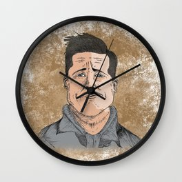 Aldo the Apache Wall Clock
