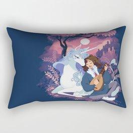 Last Unicorn + Dan Avidan Rectangular Pillow
