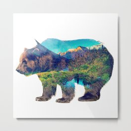 Nature Giant Metal Print