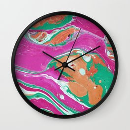 Marble texture 16 Wall Clock