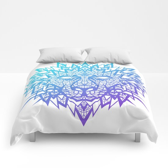 Heart of a Lion Comforters