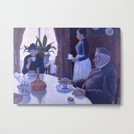 The Dining Room (aka Breakfast) Metal Print