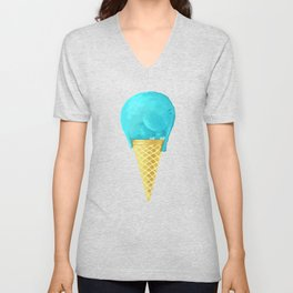 elefant icecream Unisex V-Neck