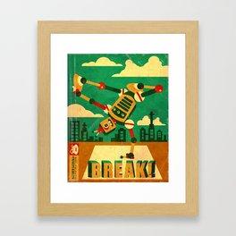 Breakbot Framed Art Print