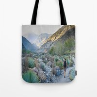 onward Tote Bags featuring Onward by Kim Ramage