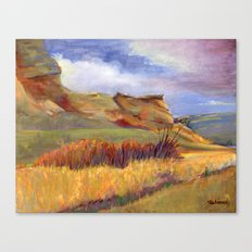 Road to Leyden Canvas Print