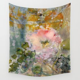 Evening Rose Wall Tapestry