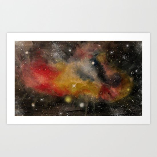 Galaxy II Art Print