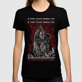Show No Mercy - Knights Templar T-shirt