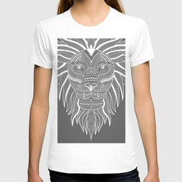 Lion Bee Manuality Grey T-shirt