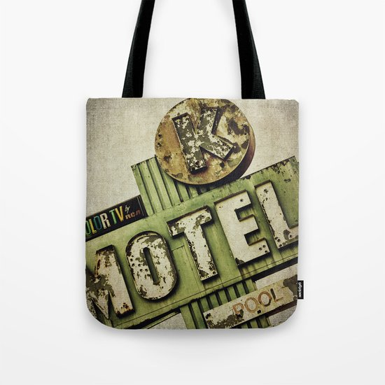 Circle K Motel Sign  Tote Bag