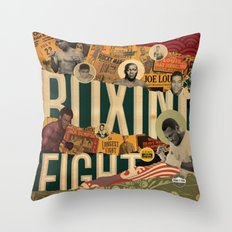 Dubelyoo Presents Bring The Pain Throw Pillow