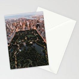 New York City Skyline and Central Park Stationery Cards
