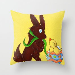 Hello, Little Fella! Throw Pillow