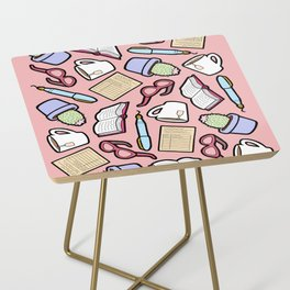 Book Club in Pink Side Table