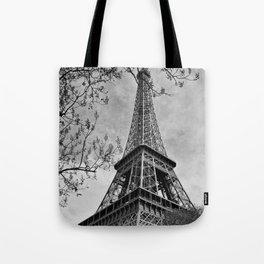 Half a Eiffel Tower Tote Bag
