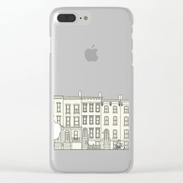 blocks of Brooklyn Clear iPhone Case