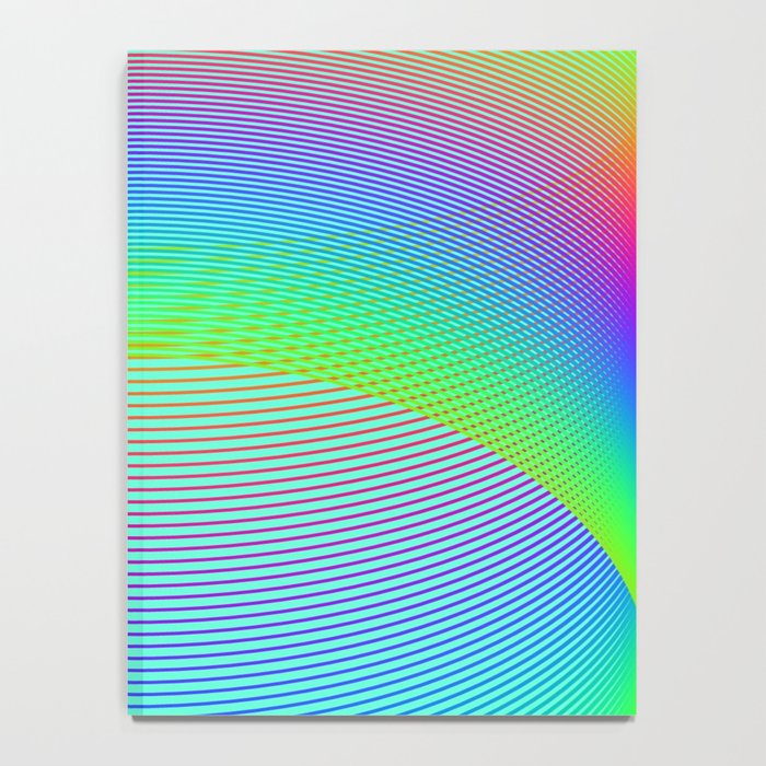 Endless Rainbow Notebook