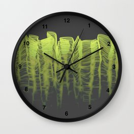 Ghost Wave (g) Wall Clock