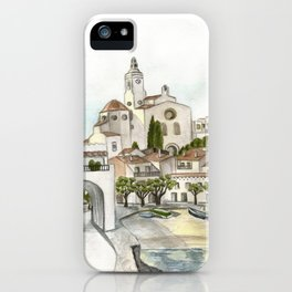 Cadaques 2 iPhone Case
