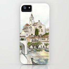 Cadaques 2 iPhone Case