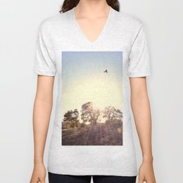 A Hawks View Unisex V-Neck