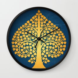 Bodhi Tree0206 Wall Clock