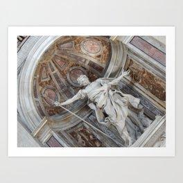 Vatican City Art Print
