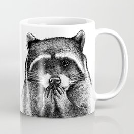 Hungry Raccoon Coffee Mug