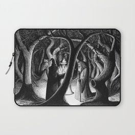 Wizards In The Woods Laptop Sleeve