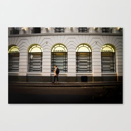 Channel Skateboard Canvas Print