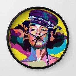 Janelle M Wall Clock