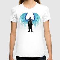 castiel T-shirts featuring Castiel  by Ludwig Van Bacon