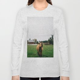 Horse // Oregon Long Sleeve T-shirt