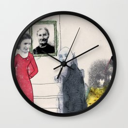 The Monster Series (8/8) Wall Clock