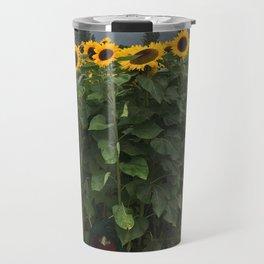 Sunflower Fairy Door Travel Mug