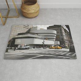 Guggenheim   Frank Lloyd Wright Architect Rug