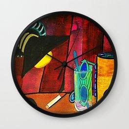 BODEGÓN CON GORRA Wall Clock