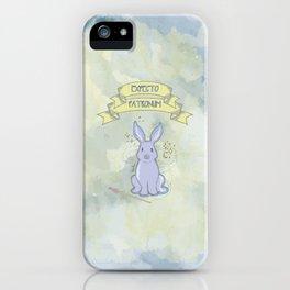 Expecto Patronum-Luna iPhone Case