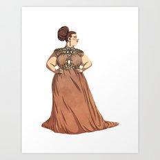 Dress #1 Art Print