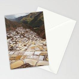 Salina de Maras in Sacred Valley Peru Stationery Cards