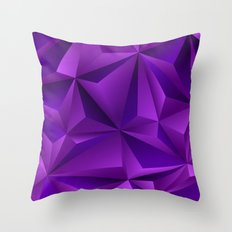 Purple 01 Throw Pillow