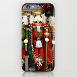 Nutcracker Soldiers iPhone Case