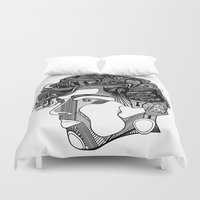 danny ivan Duvet Covers featuring Danny by Alastair Vanes