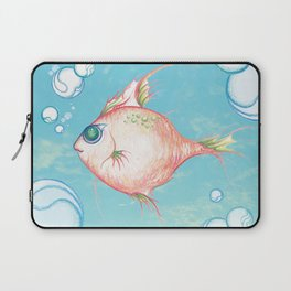 Pink Fish Dreams  Laptop Sleeve