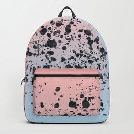 Blue, Blush, Black. Backpack