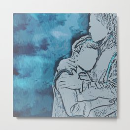 Remember When We Were Young Metal Print