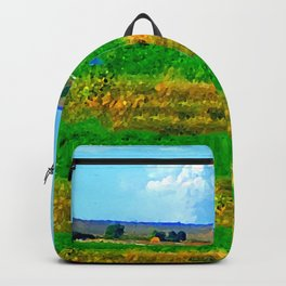 Nestled in the Valley:  Smoke on the Horizon Backpack