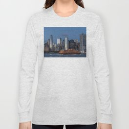 NYC and Staten Island Ferry Long Sleeve T-shirt