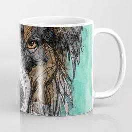 Black Tri Aussie Coffee Mug